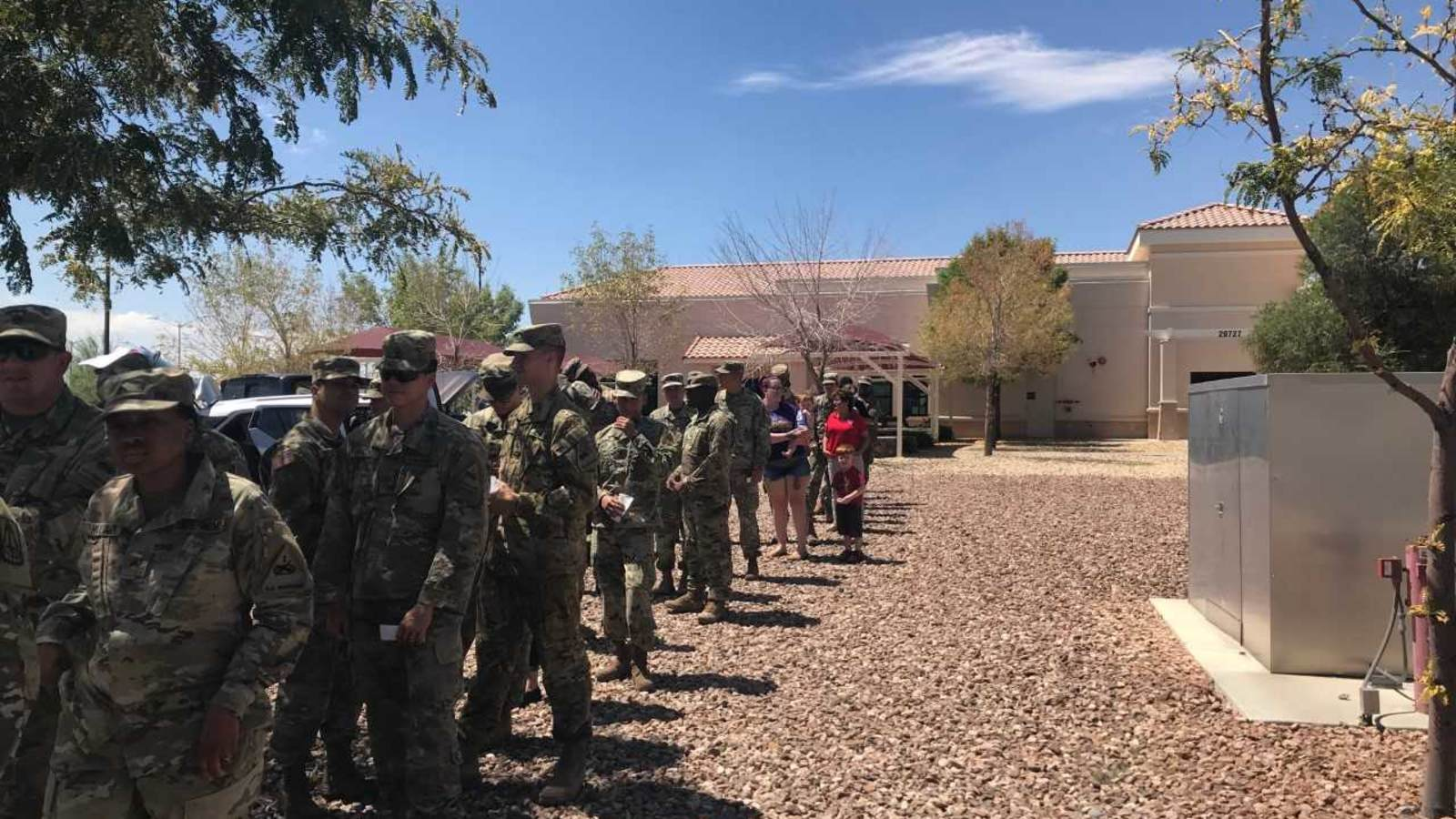 ... Many Service Members And Their Families That Joined Us For A Great  Lunch Today At Our East Bliss Location. Thanks Goes To Our Sponsor, Casa  Nissan And ...